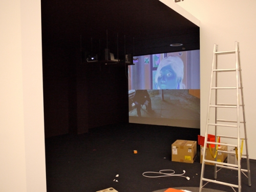 Ausstellungsansicht Changing Channels
